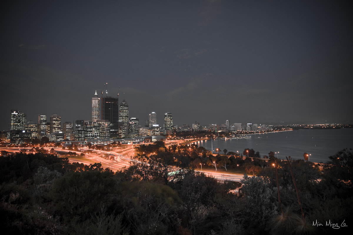 Photograph Perth Night by Min Ming Lo on 500px