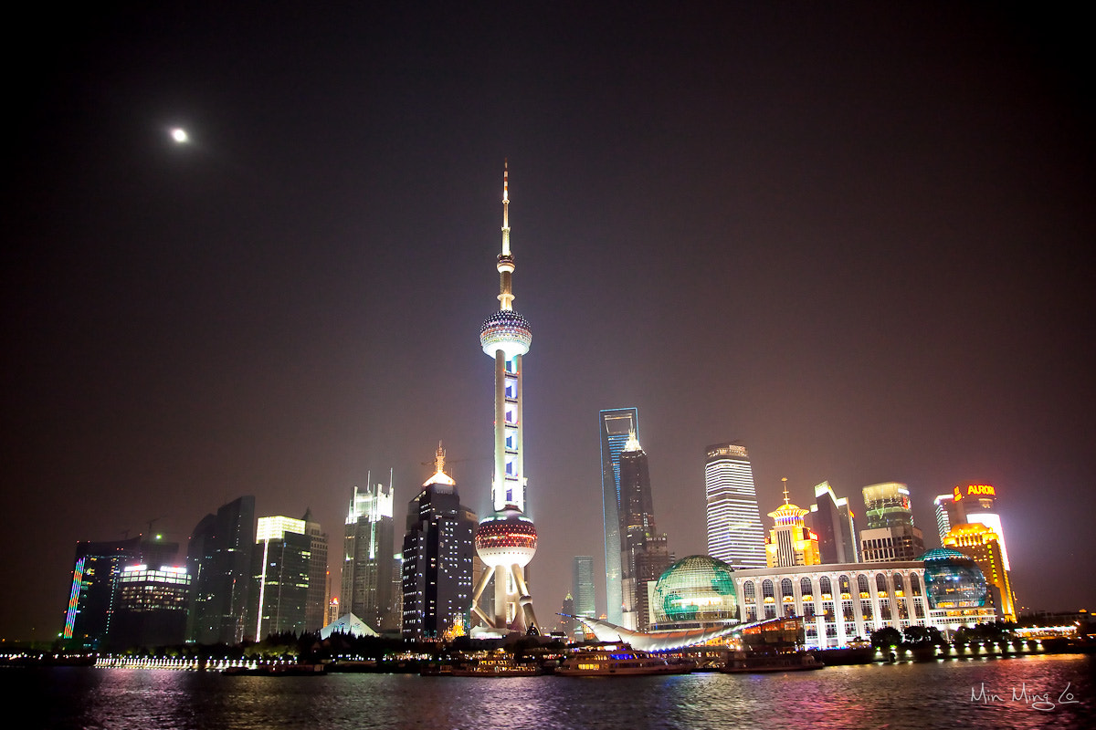 Photograph Shanghai Night Sky 2 by Min Ming Lo on 500px