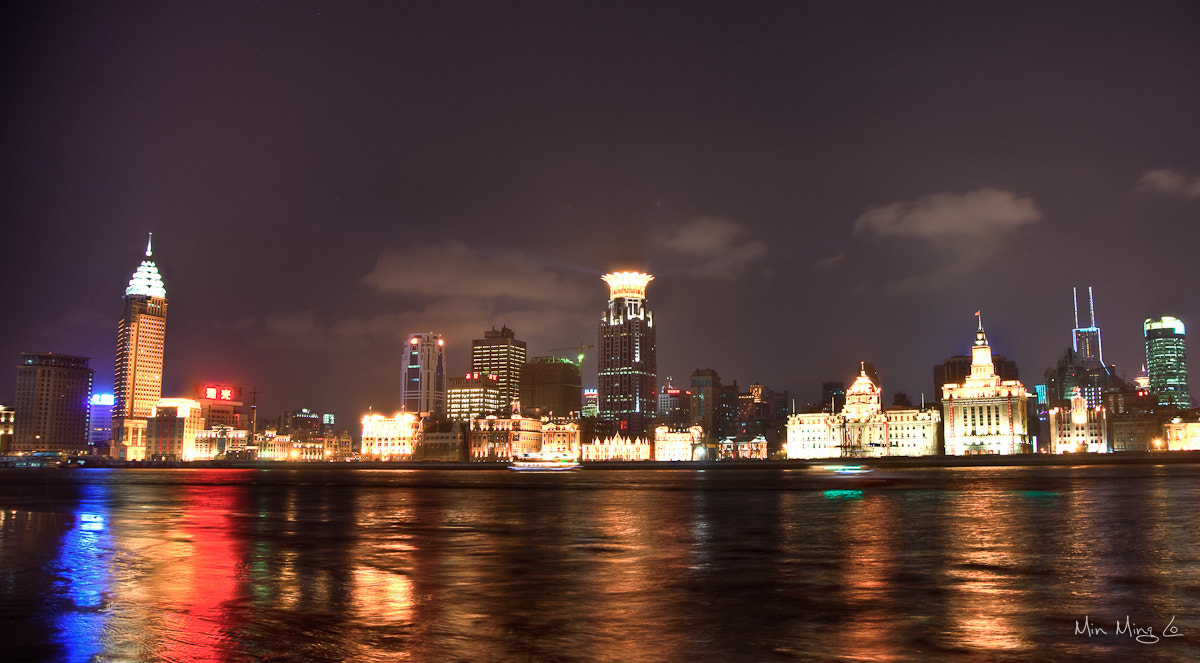 Photograph Shanghai Night Sky 3 by Min Ming Lo on 500px