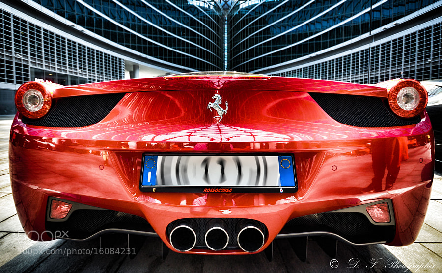Photograph Red Ferrari by Daniele Forestiere on 500px