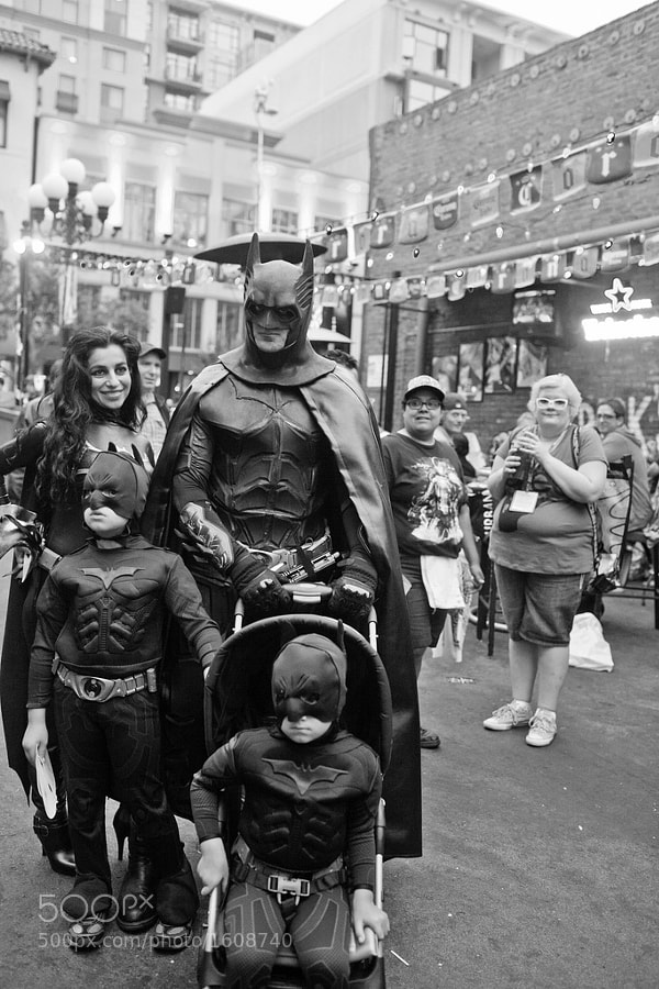Photograph Batman Family by espressoDOM Photography on 500px