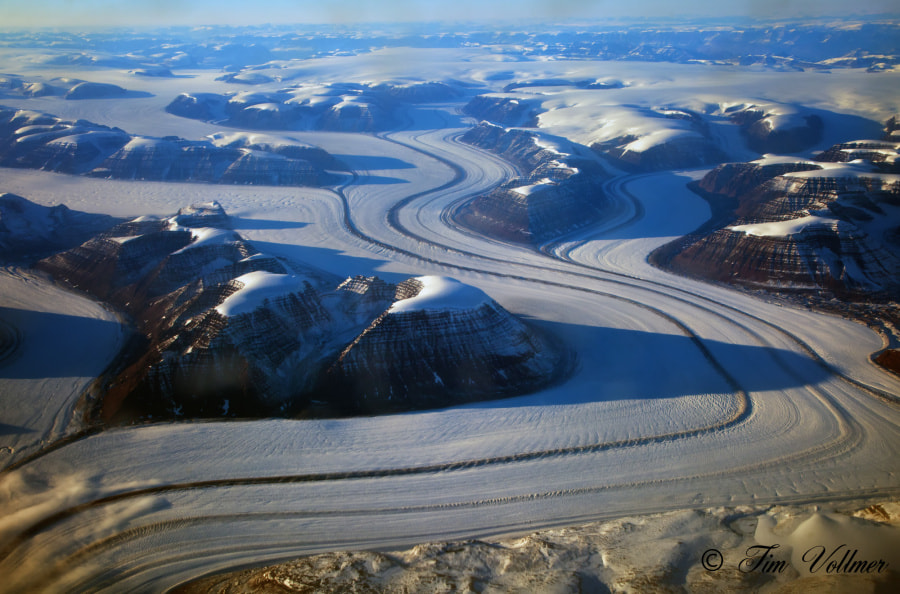 Photograph Flying over East Greenland by Tim Vollmer on 500px