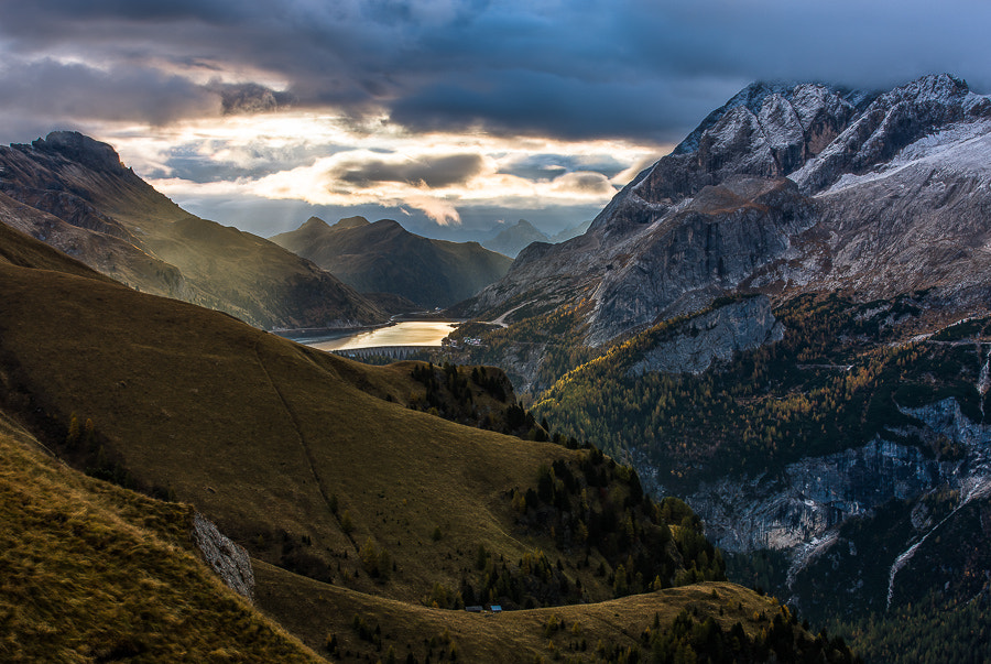 Photograph Passo Fedaia in morning light by Hans Kruse on 500px