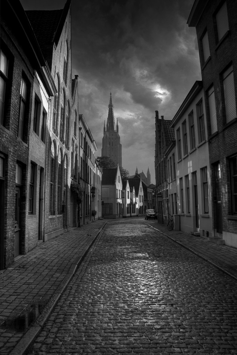 Photograph Brugge Backstreet by mark mathias on 500px