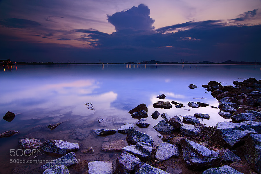Photograph Silent Sunset by Vincentius Ferdinand on 500px
