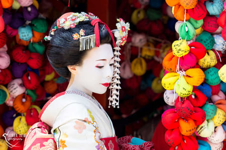 Maiko in Gion by Janet Weldon on 500px