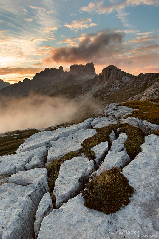 Photograph Sunset on Dolomites by Cristiana Damiano on 500px