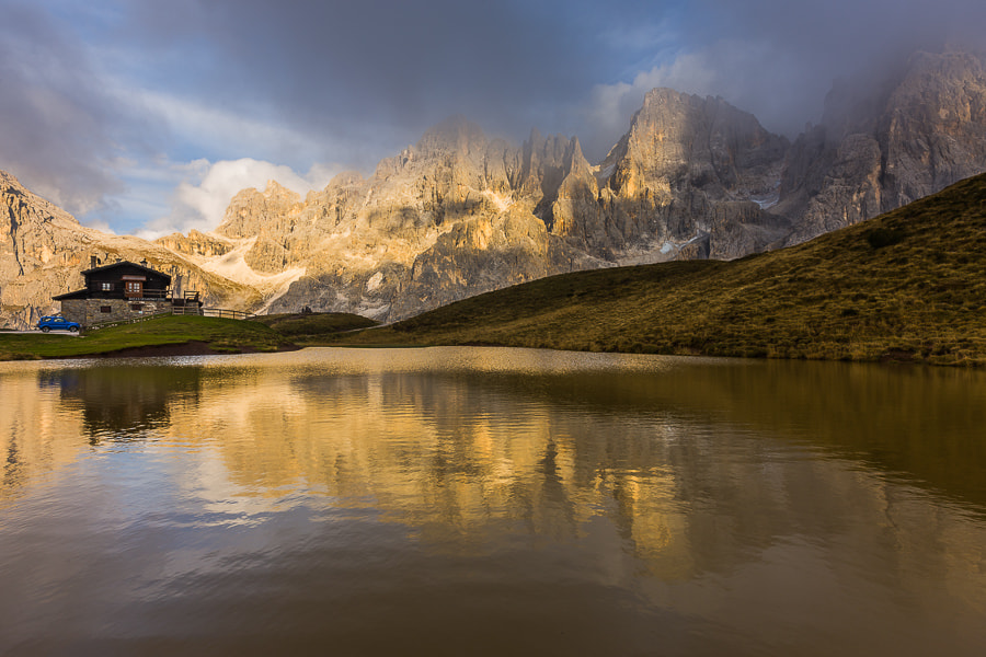 """<a href=""""http://www.hanskrusephotography.com/Workshops/Dolomites-October-7-11-2013/24503434_Pqw9qb#!i=2154261898&k=4SZLhFN&lb=1&s=A"""">See a larger version here</a>  This photo was taken during a photo workshop in the Dolomites October 2012."""