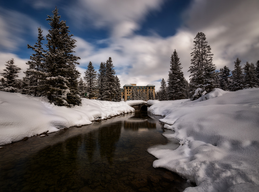 Fairmont, Lake Louise by Saptashaw Chakraborty on 500px.com