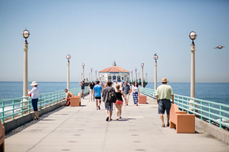 Manhattan Beach Pier by Adriana Manni on 500px