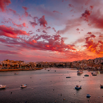 Maltese Sunset