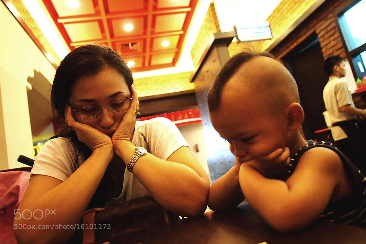 Photograph Like Mother Like Son  by Girindra  Tundjung on 500px
