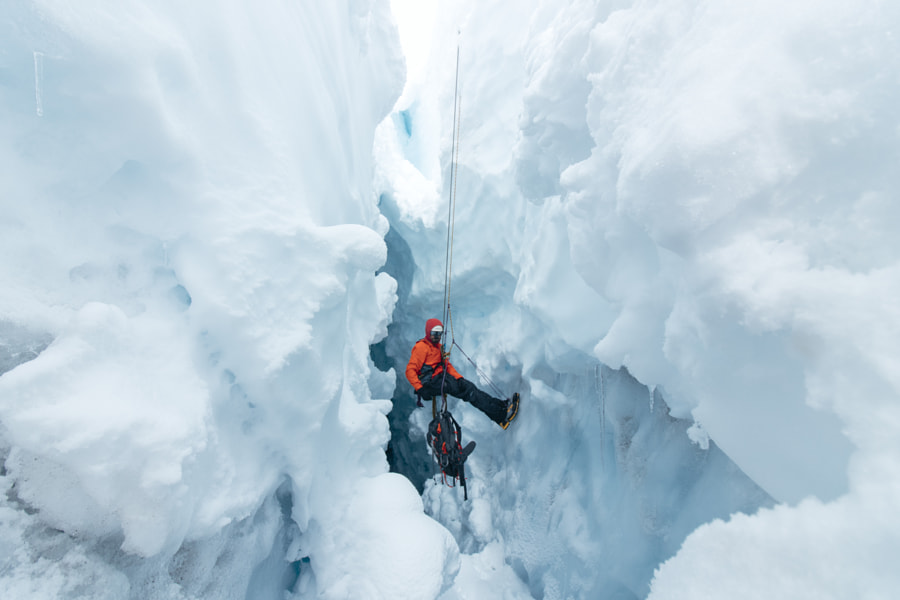Inside A Crevasse by Alex Strohl on 500px.com