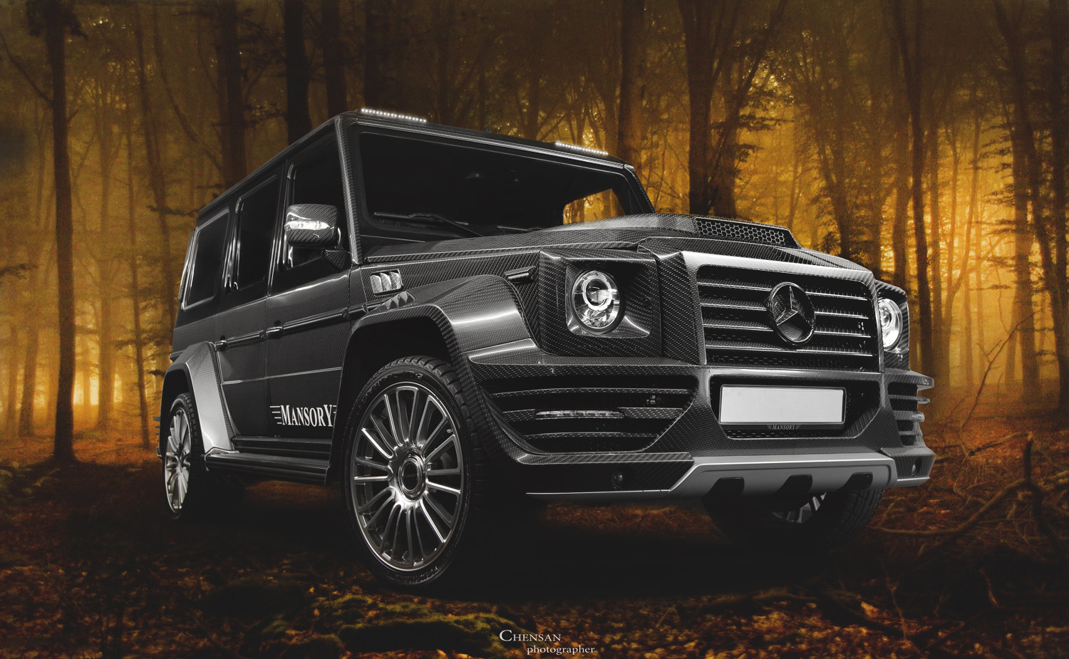 Photograph Mersedes G-class MANSORY G-couture SPECIAL EDITION 02/07 . by philip plein ,photo by Chensan by  Chensan on 500px
