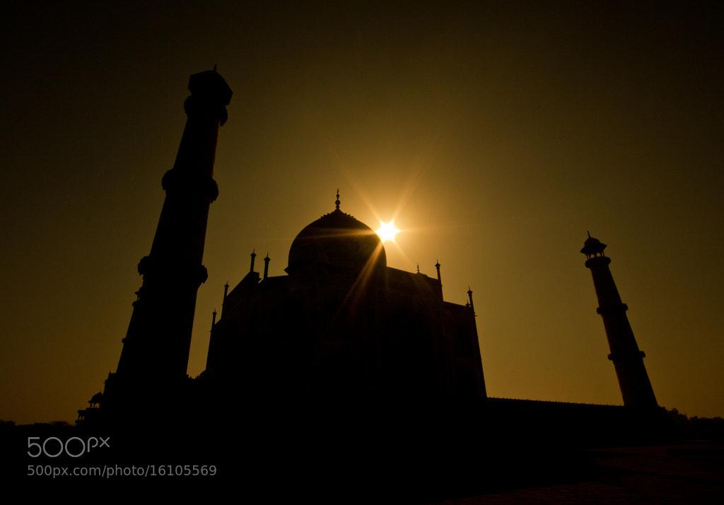 Photograph Sun over the Taj Mahal by Anup Matharu on 500px