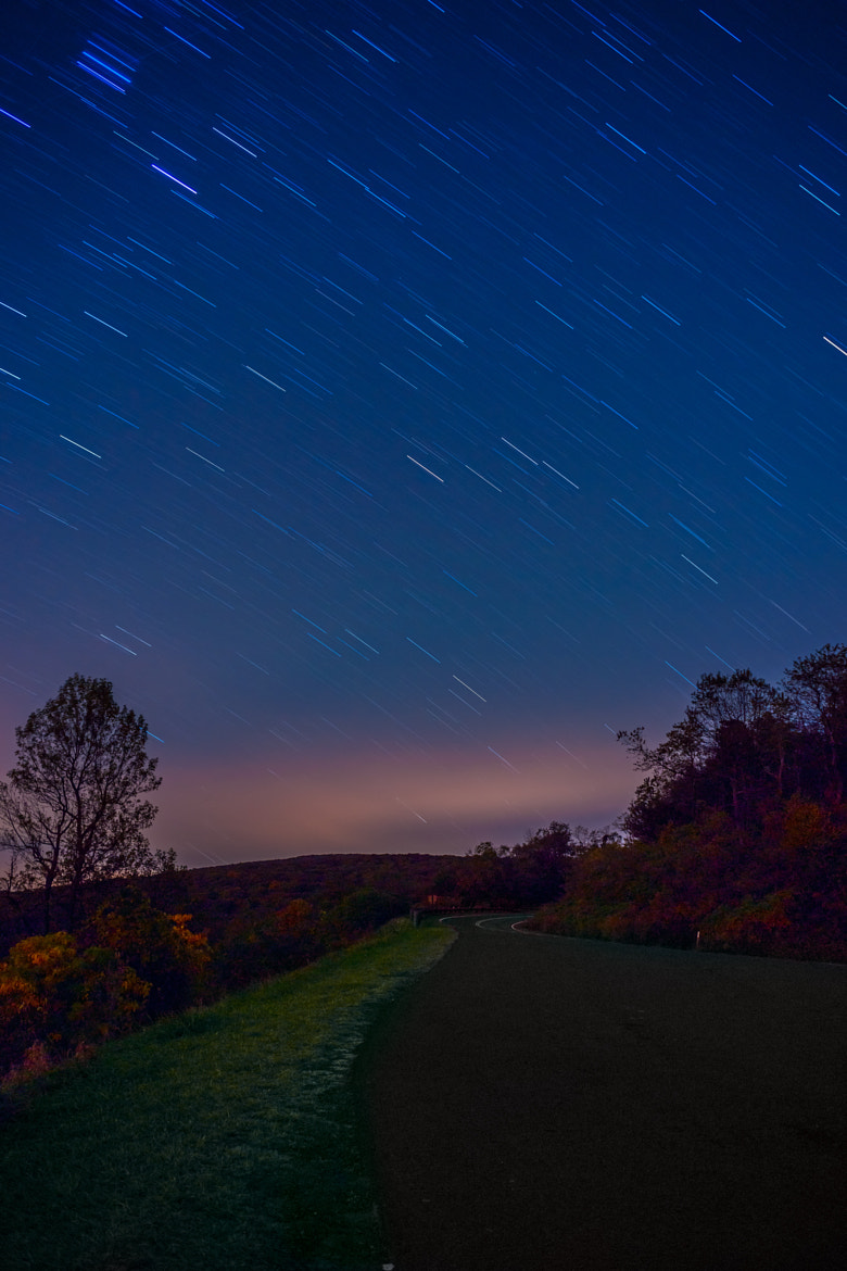 Photograph Shenandoah Star Trails by Monico Havier on 500px