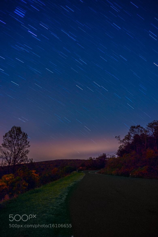 Photograph Shenandoah Star Trails by Monico Havier on 500px