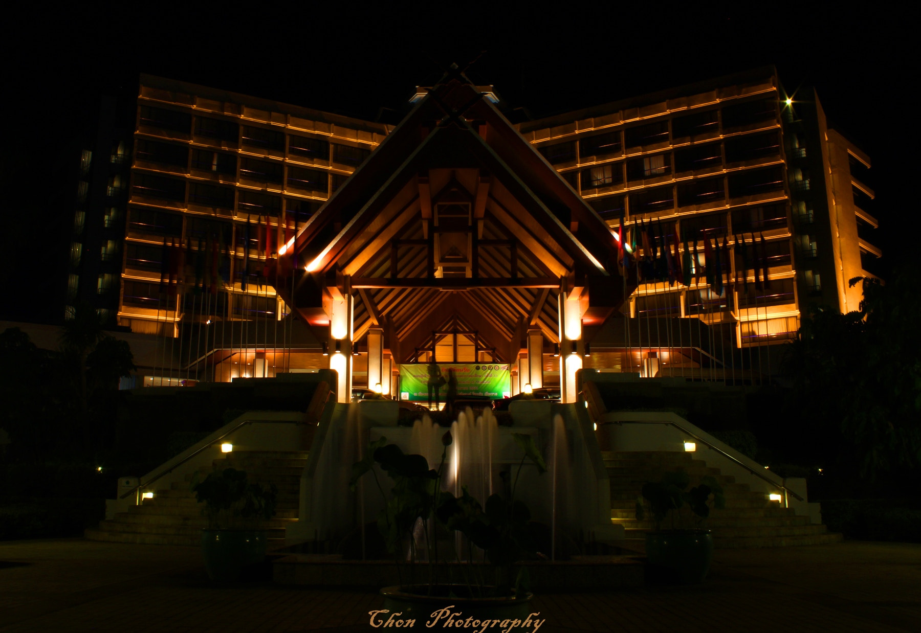 Photograph Dusit Island Hotel, Chang Rai by thicha chan on 500px