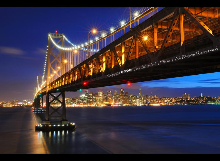 Photograph Starbursts over San Francisco by Tom Schwabel on 500px