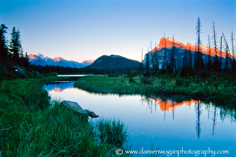 Photograph Mountain Reflection by Damien Wogan on 500px
