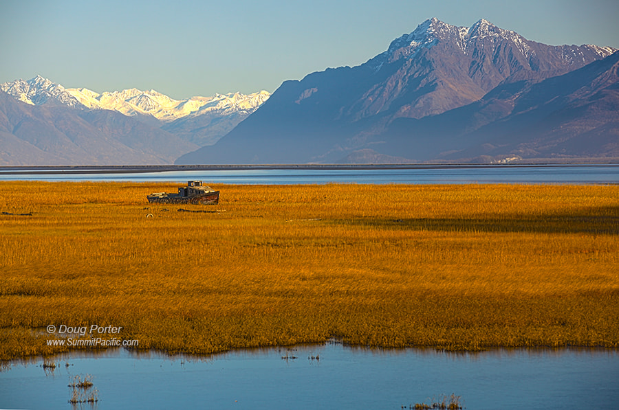 Photograph Knik Boat by Doug Porter on 500px