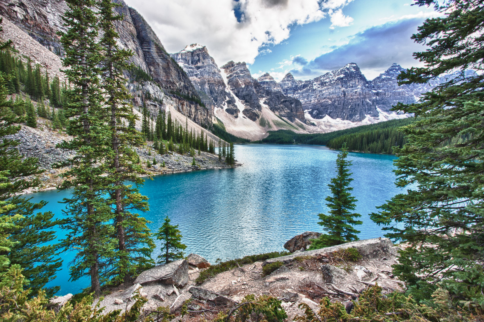 Photograph Moraine Lake by Dmitry Zaslavsky on 500px