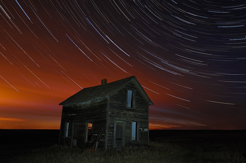Photograph Old Barn Star Trails by Mike Isaak on 500px
