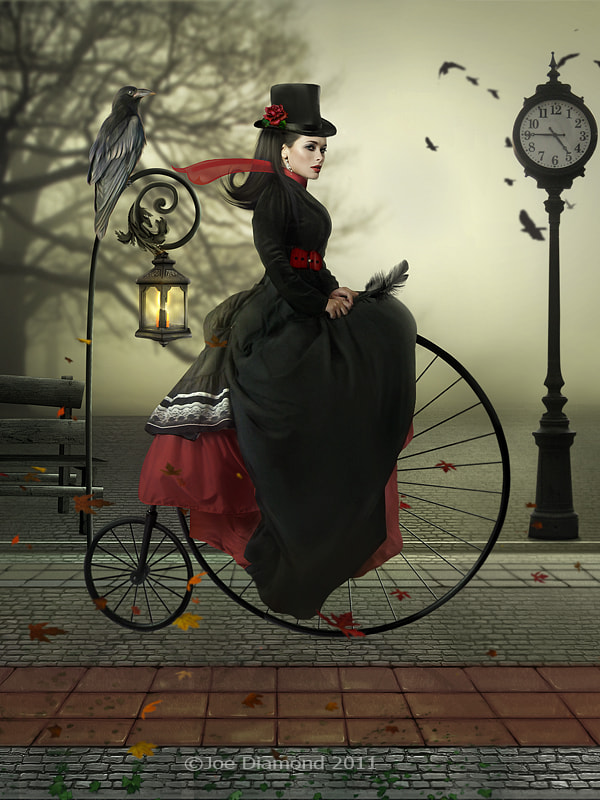 Photograph A ride with Penny Farthing by Joe Diamond on 500px