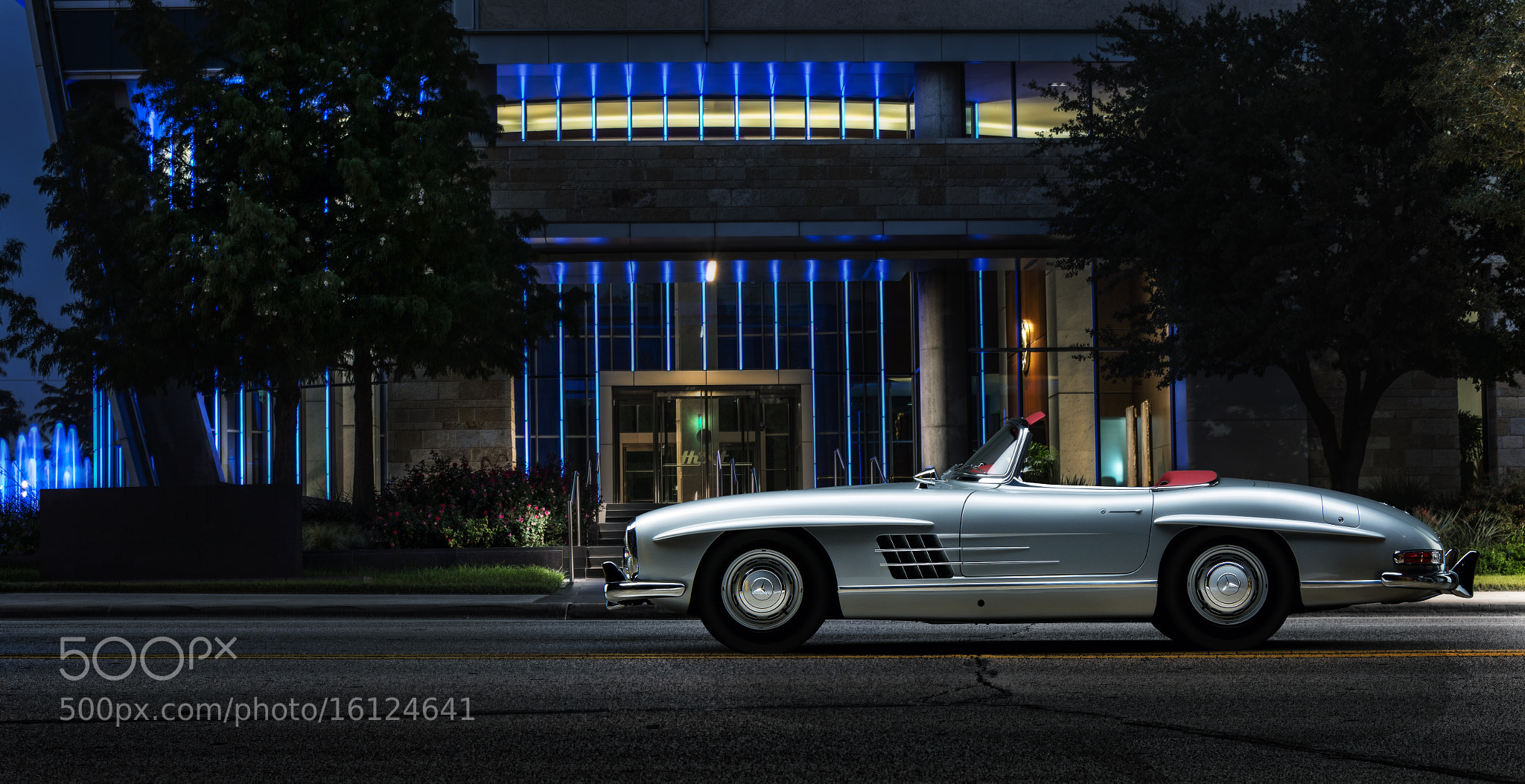 Photograph Mercedes Profile Composite by Dale  Martin on 500px
