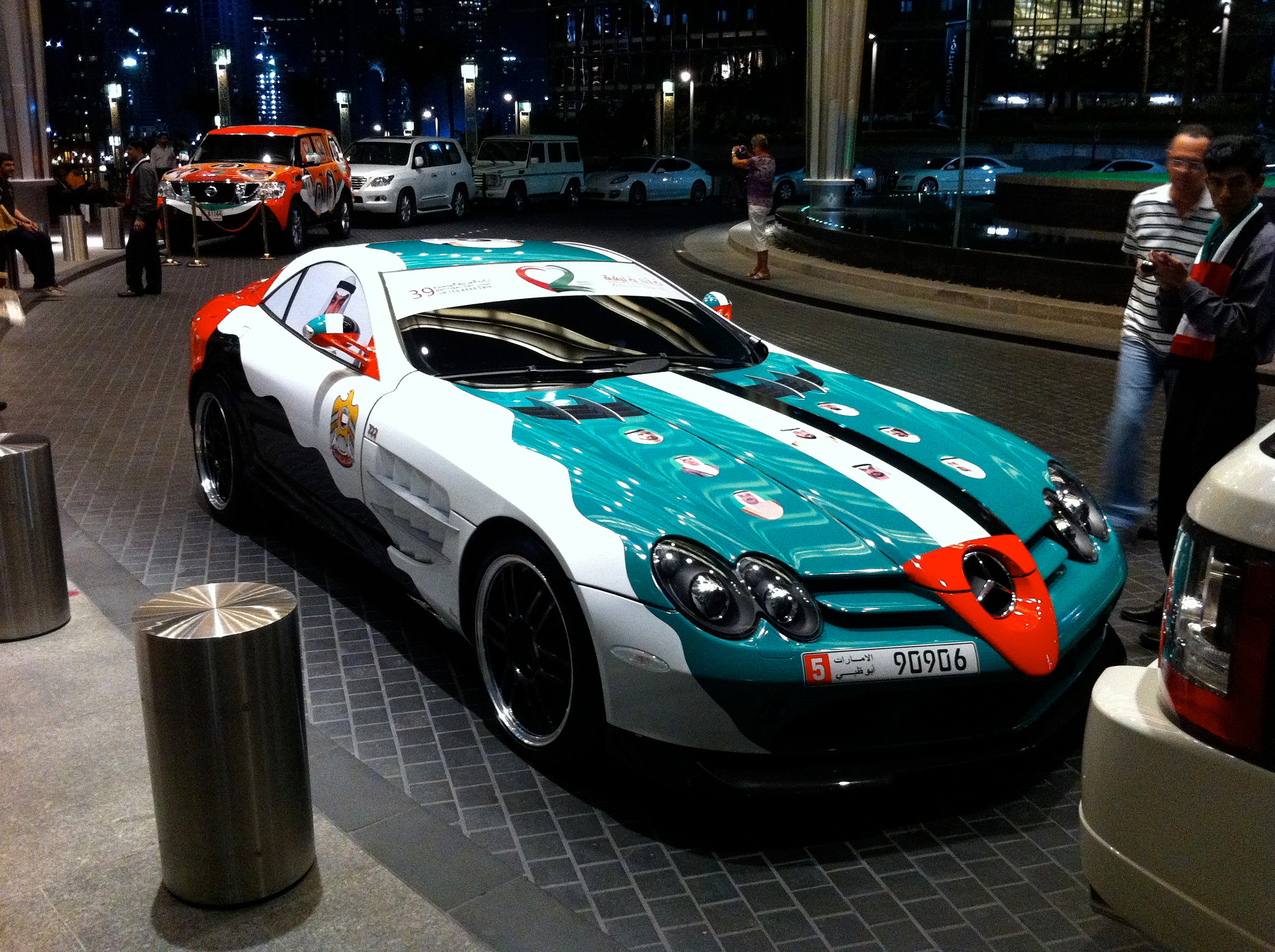Photograph McLaren SLR (Decorated for UAE National Day) by Adam Nagyistok on 500px