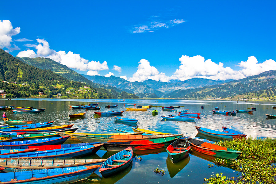 Colorful Pokhara by Manish Shakya (MrShakya)) on 500px.com