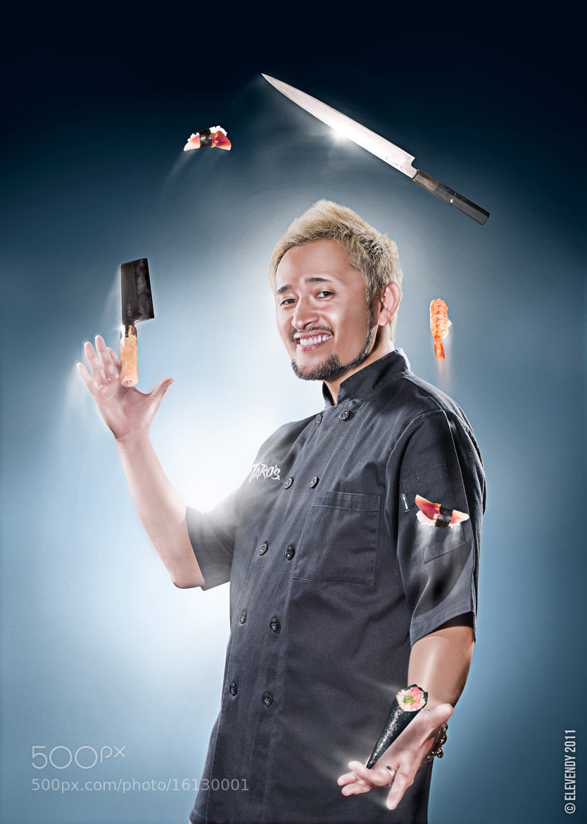 Photograph Taro Arai - Juggling Sushi Chef by Team Elevendy on 500px
