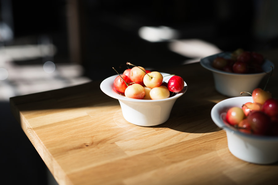 Delicious Fresh Cherries by Gabriela Tulian on 500px.com