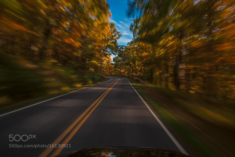 Photograph Cruisin Down Skyline Drive by Monico Havier on 500px