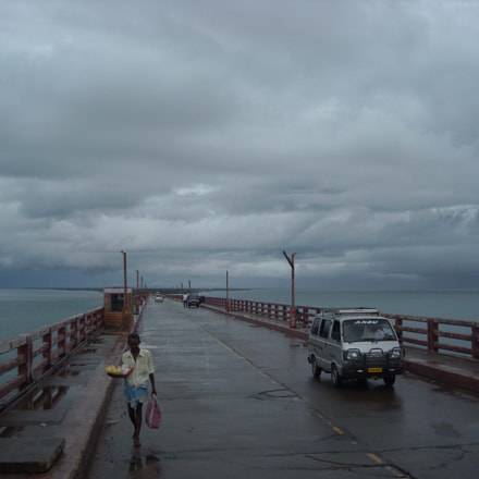 Pamban Road Bridge, Nikon COOLPIX L15