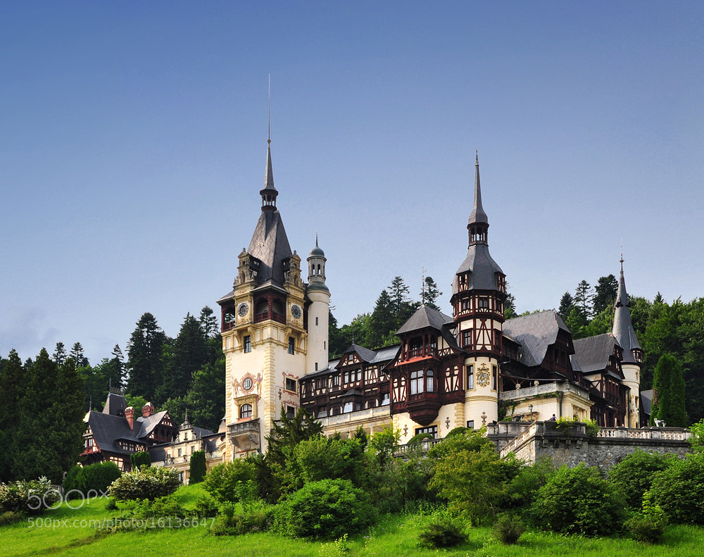 Photograph Peles Castle - Sinaia by Sorin Petculescu on 500px