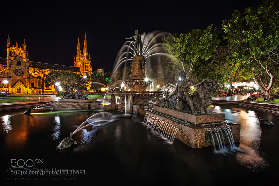 Photograph Archibald Fountain by Drew Hopper on 500px