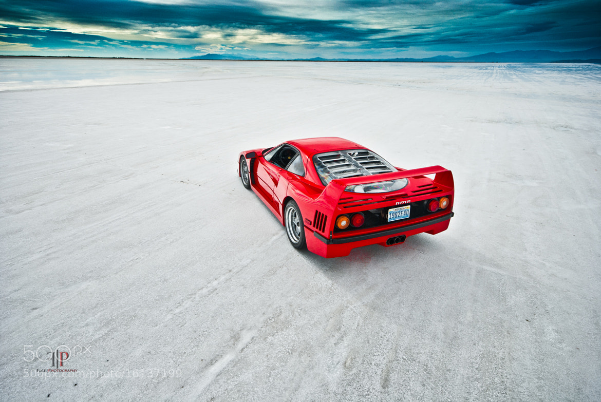 Photograph Ferrari F40 | Isolation  by Gil Folk on 500px