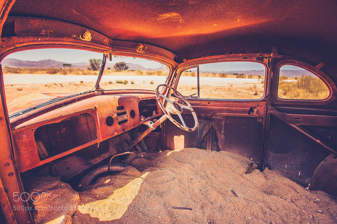Photograph DESERT WRECK by Leo Edwards on 500px