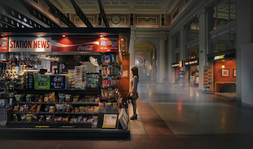 Photograph The station  by Fang Tong on 500px
