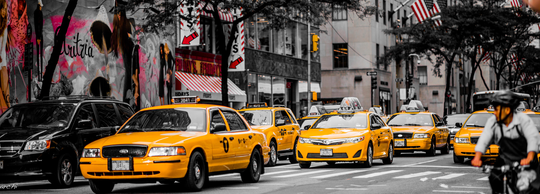 Photograph NYC Taxi by Archana Patchirajan on 500px