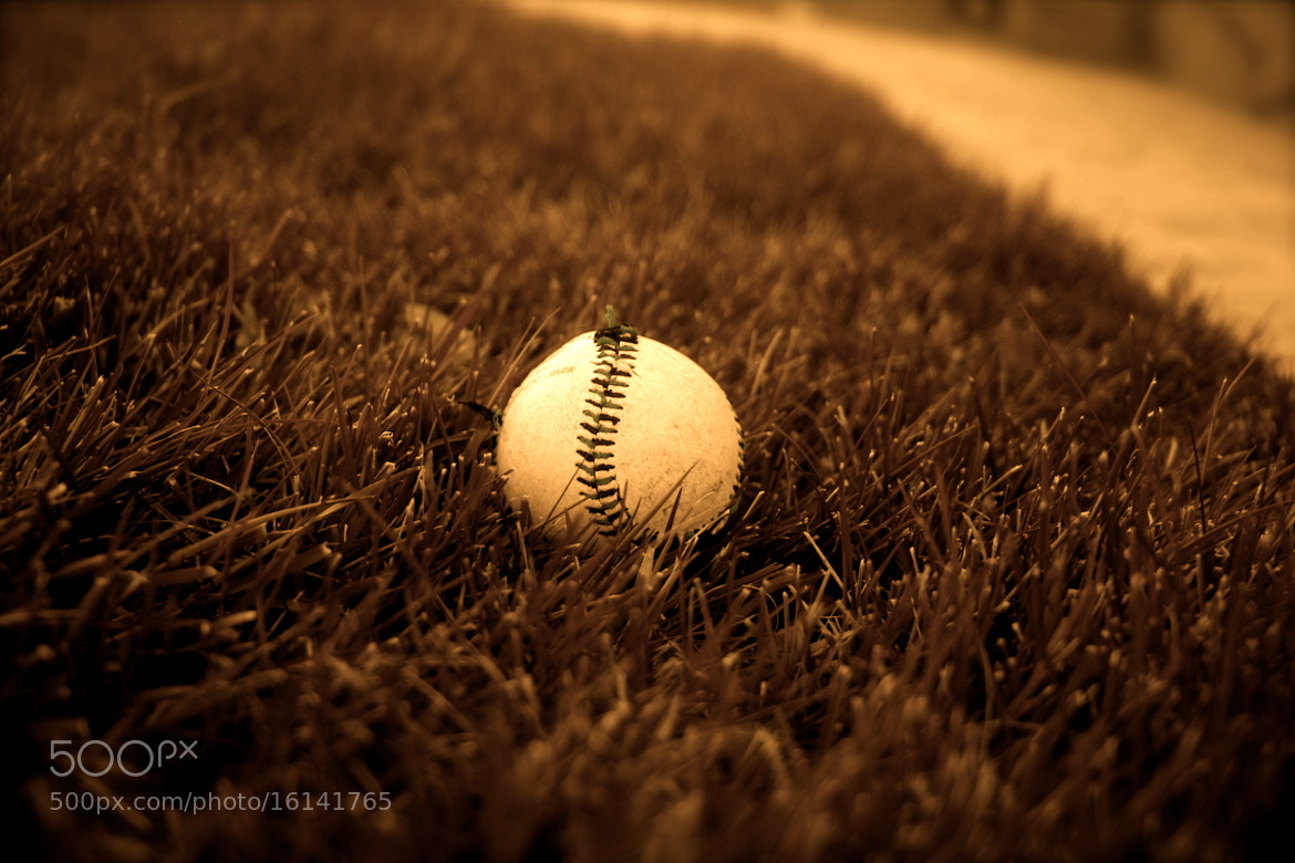 Photograph Baseball by Troy  on 500px