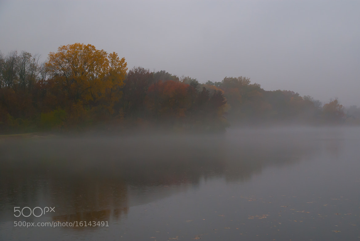Photograph Fall Fog by Scott Hull on 500px