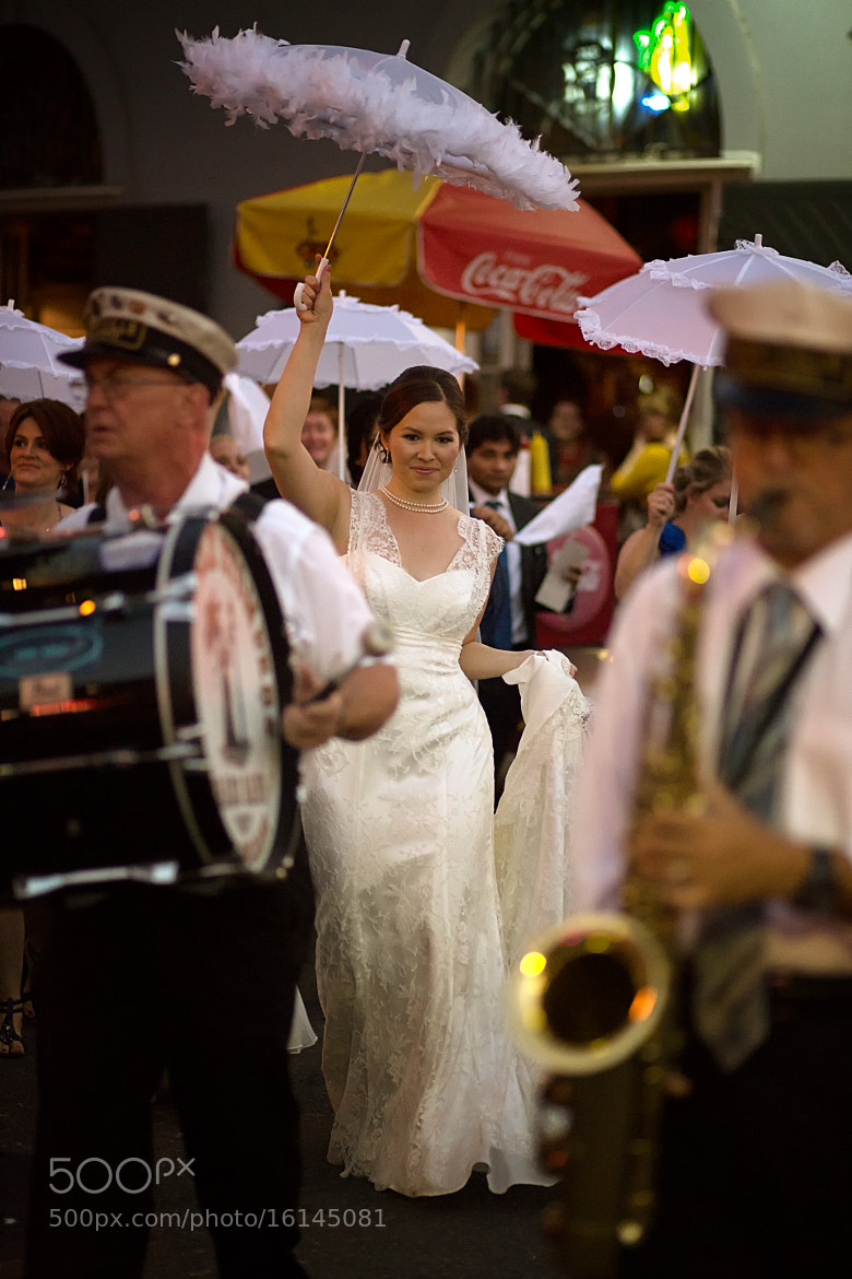 Photograph French Quarter Wedding by Darrell Miller on 500px