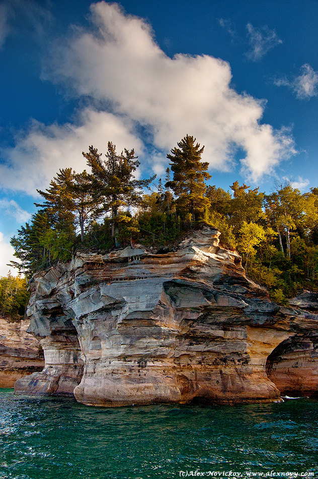 Photograph Pictured rocks by Alexander Novickov on 500px
