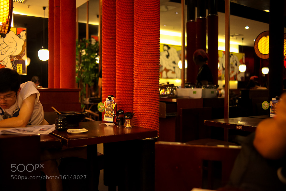 Photograph a noodle resturant in shenzhen by jacky mao on 500px