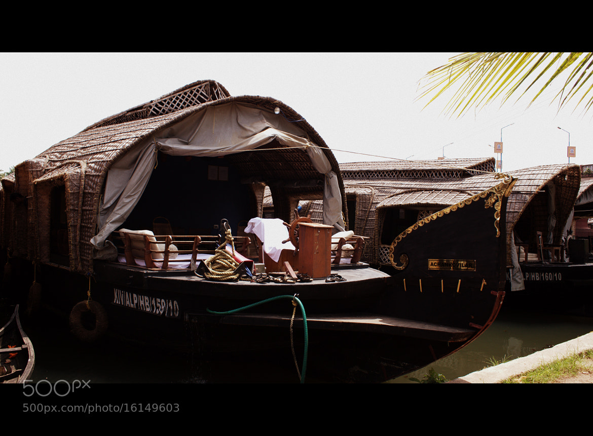 Photograph Our Houseboat by HARINI RAJAGOPAL on 500px