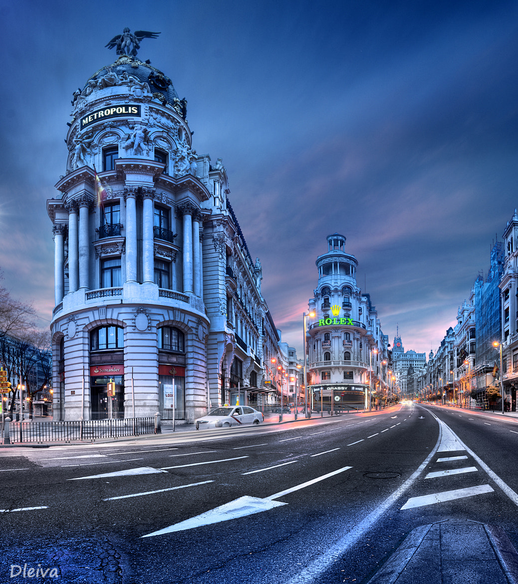 Photograph  Gran Via in Madrid, Spain by Domingo Leiva on 500px