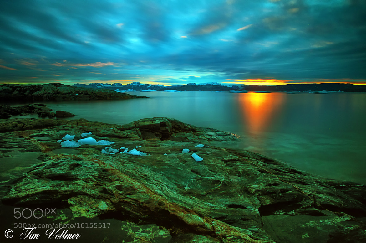 Photograph Sunset in East Greenland by Tim Vollmer on 500px