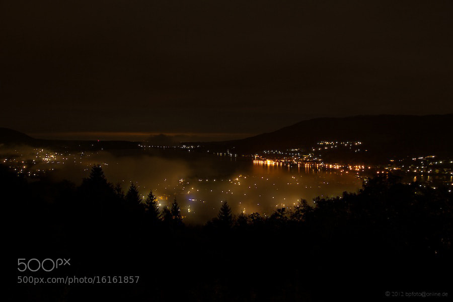 Photograph Tegernsee at night by Benno Pütz on 500px